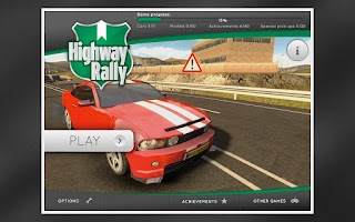 Screenshot of Highway Rally: Fast Car Racing