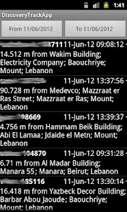 DiscoveryTrack Tracking App- screenshot thumbnail