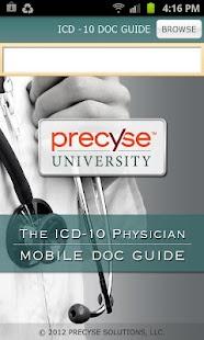 ICD-10 Doc Guide- screenshot thumbnail