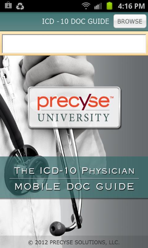 ICD-10 Doc Guide- screenshot