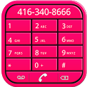 Pink Dialer icon