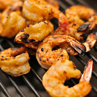 Grilled Garlic-Lime Shrimp.