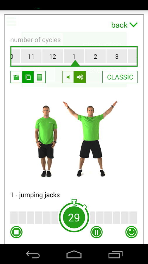 Screenshots of 7 Minute Workout Challenge for iPhone