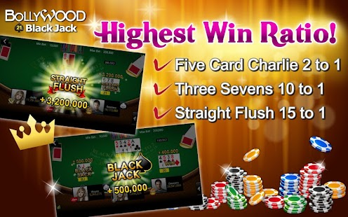 BlackJack – Bollywood 21 Poker