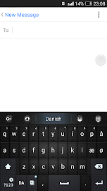 Danish for GO Keyboard - Emoji Screenshot 4