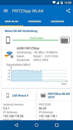 FRITZ App WLAN