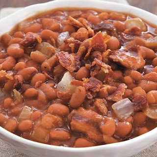 Slow-Cooker Bacon Brown Sugar Baked Beans.