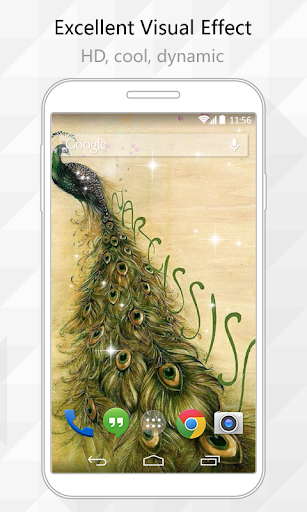 Peacocks Live Wallpaper