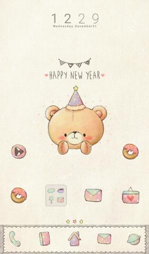 베니베어 happy new year 도돌런처 테마