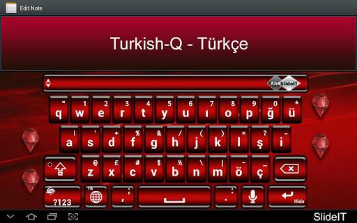 SlideIT Turkish-Q Pack