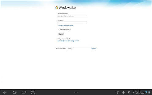 Browser for OneDrive(SkyDrive) - screenshot thumbnail