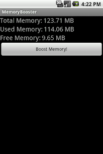 MemoryBooster - RAM Optimizer - screenshot thumbnail