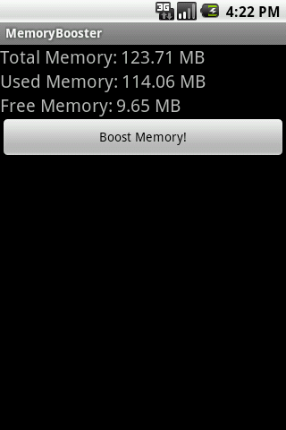 MemoryBooster - RAM Optimizer - screenshot