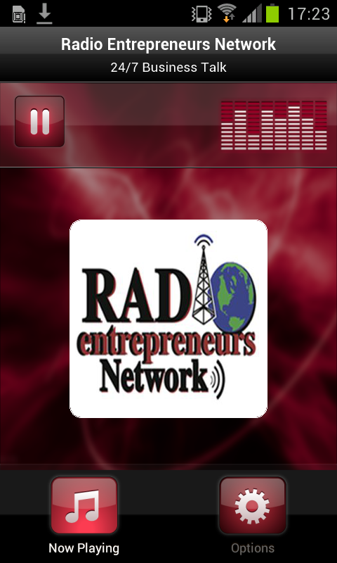 Radio Entrepreneurs Network- screenshot