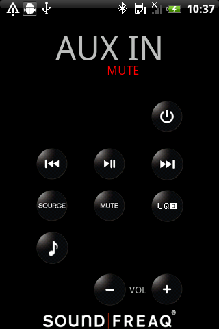 Soundfreaq Remote - screenshot