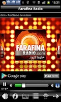 Screenshot of Farafina Radio