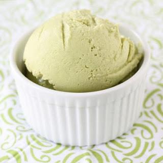 Avocado Ice Cream.