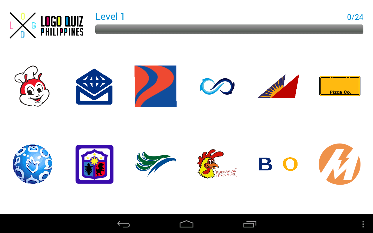 Logo Quiz Philippines- screenshot