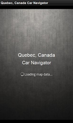 GPS導航 魁北克,加拿大