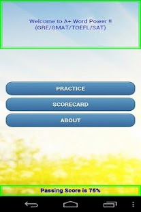 A+ Word Power GRE GMAT Lite! - screenshot thumbnail