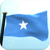 Somalia Flag 3D Free Wallpaper