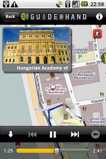Budapest GUIDE@HAND - screenshot thumbnail