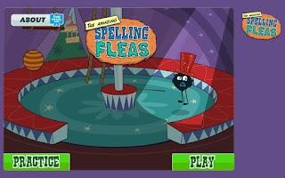 Screenshot of TVOKids Spelling Fleas