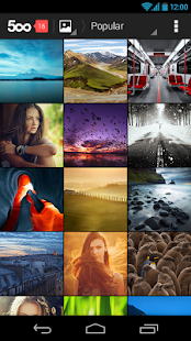 500px: Best Photos - screenshot thumbnail