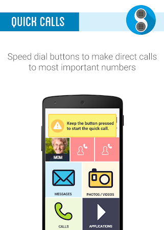 Phonotto Simple Phone Launcher versionName='1.10.6 screenshot 984604