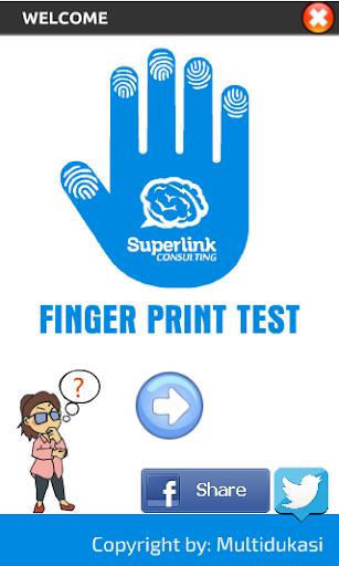 Fingerprint Test