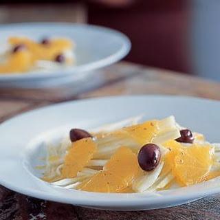 Fennel, Orange and Olive Salad (Insalata di Finocchio)