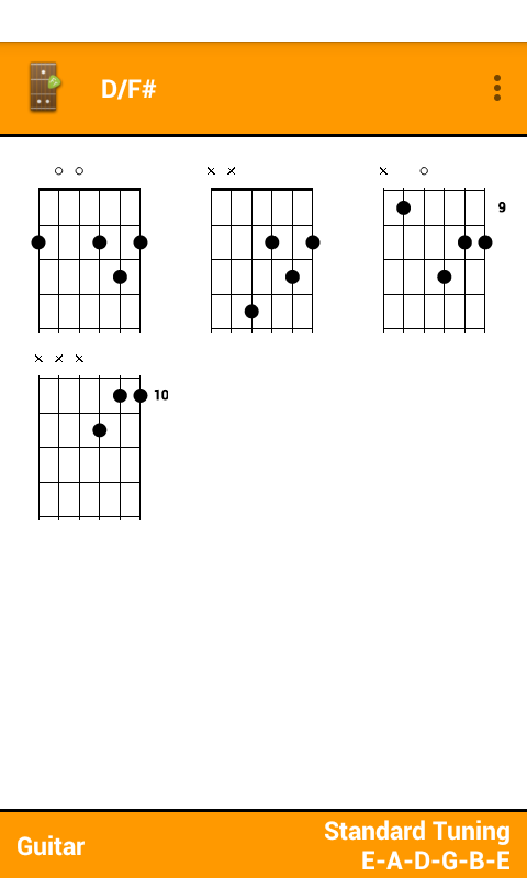 Fretter - Chords - screenshot