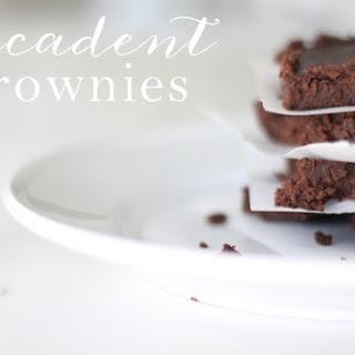 Decadent Flourless Brownies