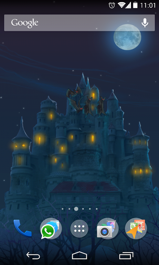 Fantasy Castle Live Wallpaper - screenshot