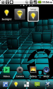Brightness Widget - Backlight!- screenshot thumbnail