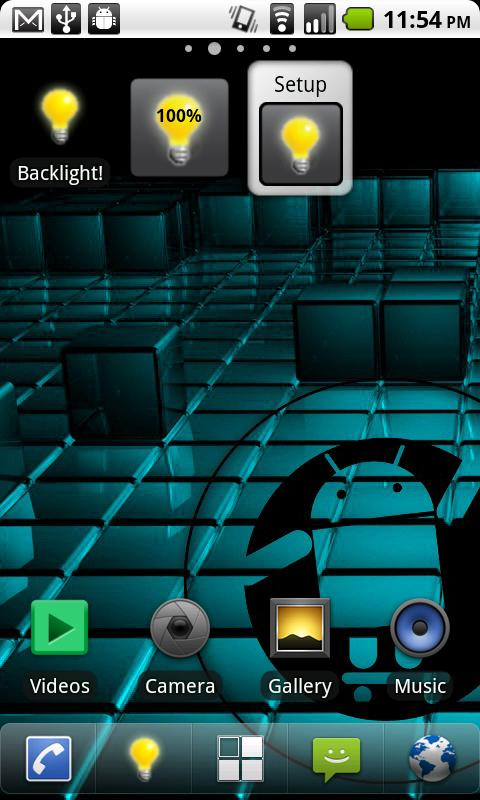Brightness Widget - Backlight!- screenshot