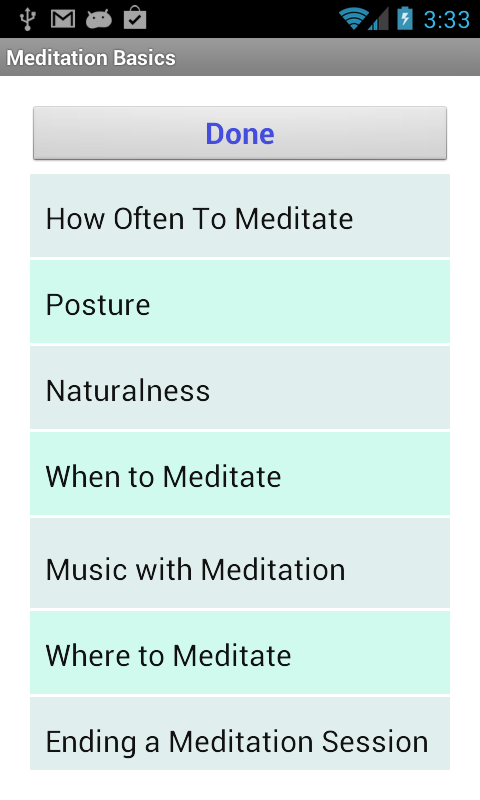 Learn to Meditate 5 Wk Course- screenshot