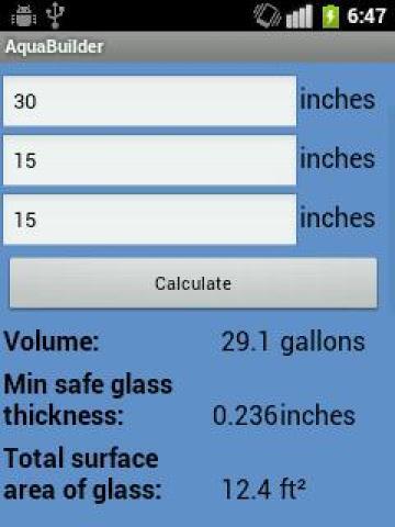 AquaBuilder- screenshot