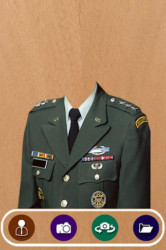 Military Suit Photo Camera