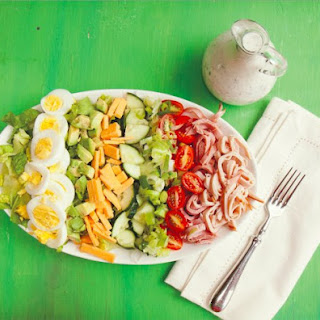 Chef's Salad With Kefir Ranch.
