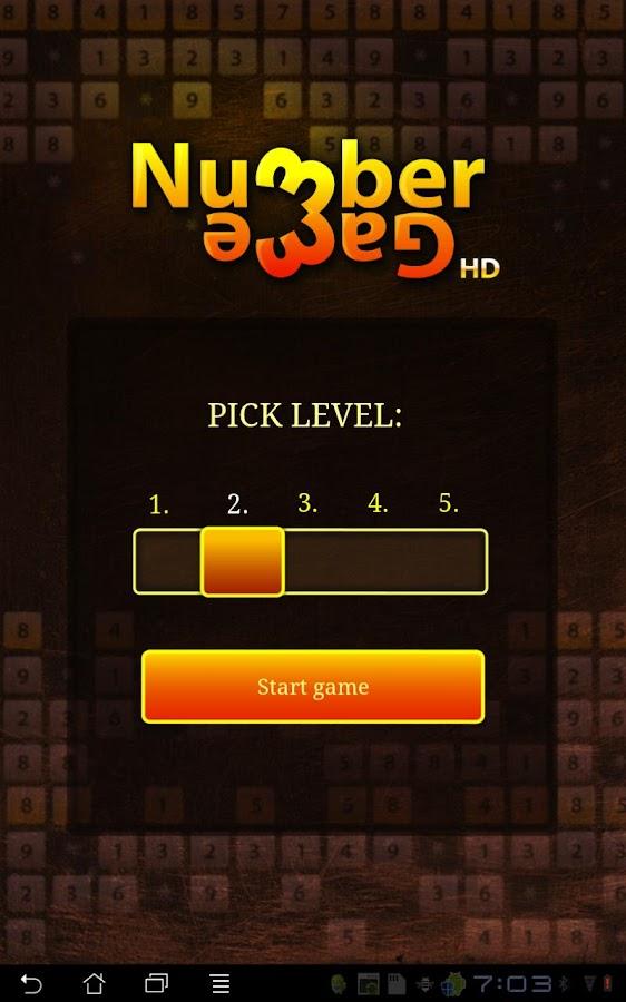 Number Game HD- screenshot