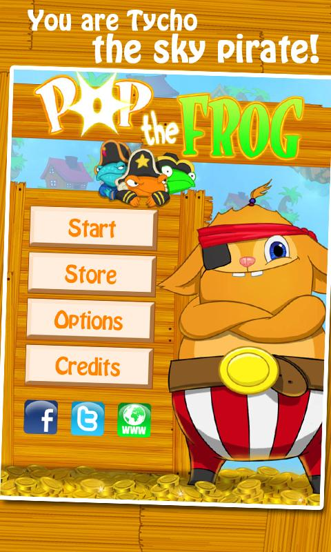 Pop the Frog - screenshot