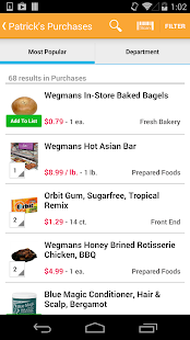Wegmans - screenshot thumbnail