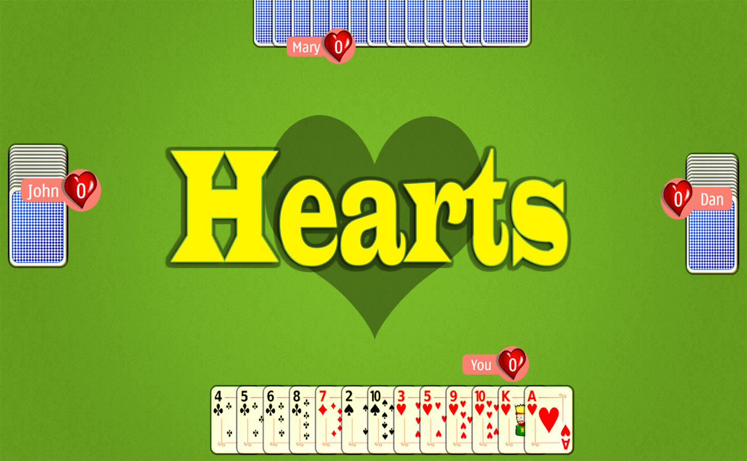 Hearts Mobile - screenshot