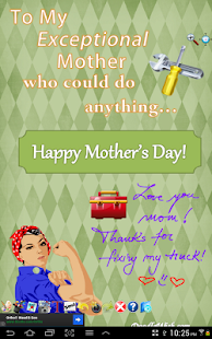 Mom is Best Cards Doodle Wish