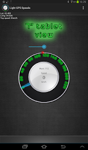 Light GPS Speedometer: kph/mph screenshot 6