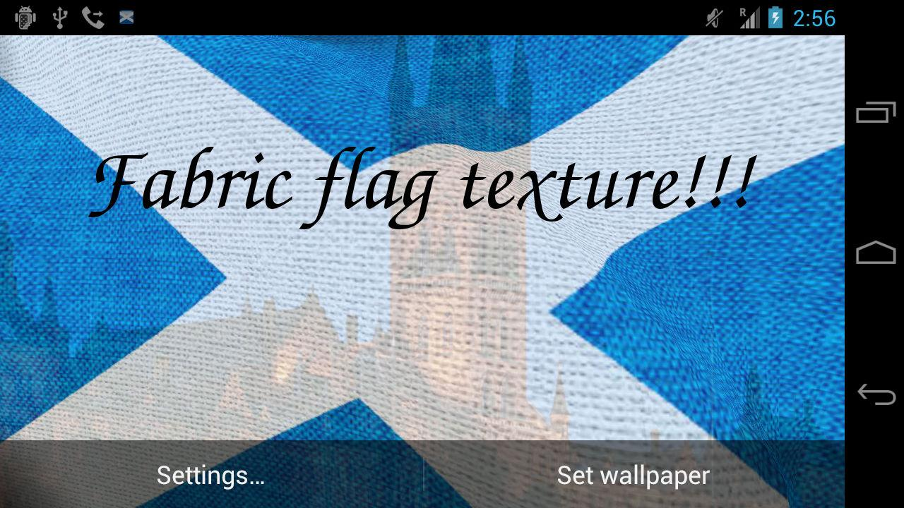 3d scotland flag android apps on google play