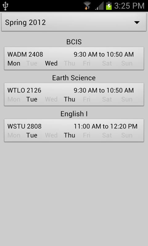 Degree Planner: GPA Calculator- screenshot