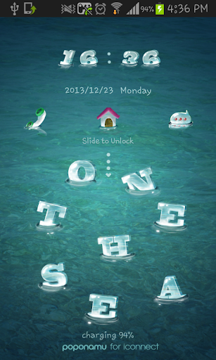 玩個人化App|on the sea go locker theme免費|APP試玩