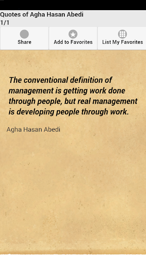 Quotes of Agha Hasan Abedi